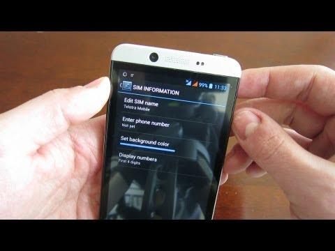 Cubot One   Dual SIM Management