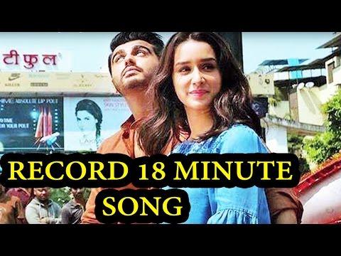 Record Breaking Arjun Kapoor's Upcoming Movie Consist Longest 18 Minute Song