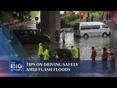 How to drive safely if caught in a flash flood | THE BIG STORY