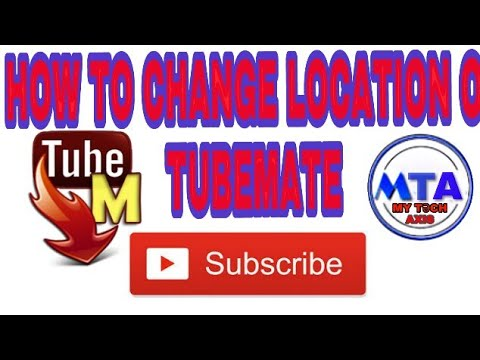 How to change location of tubemate ( internal memory to sd card.