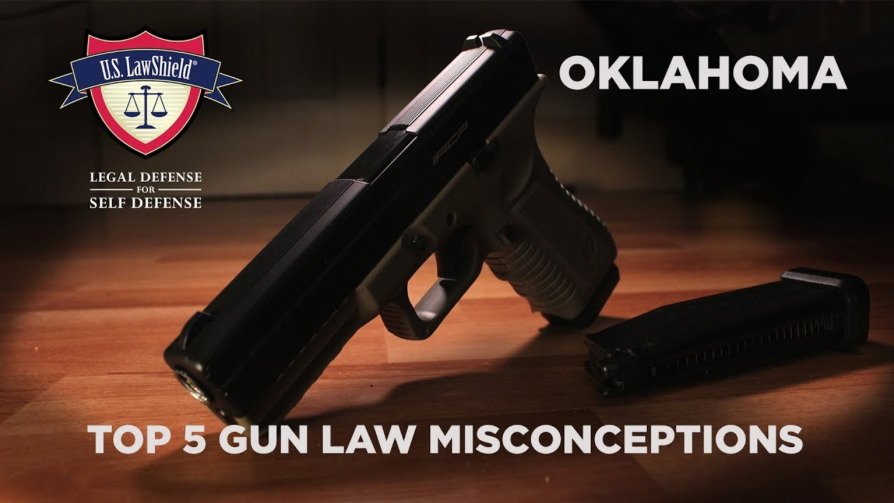 Top 5 Gun Law Misconceptions OKLAHOMA