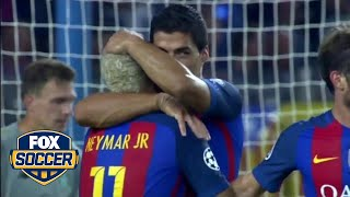 Messi, Suarez and Neymar have scored over 300 goals for Barcelona | FOX SOCCER