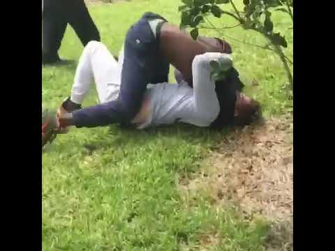 Fort Lauderdale high school omar beat up this kid for hitting his homie