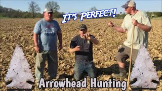 Worked Perfectly! - Native American ARROWHEAD hunting w/ Hoover Boys Kurt & PA Pirate Paul
