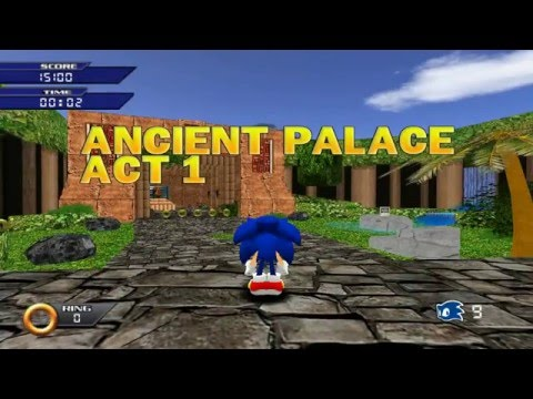 Sonic The Hedgehog 3D (Sonic Fan Game): All Acts [ No Commentary ]