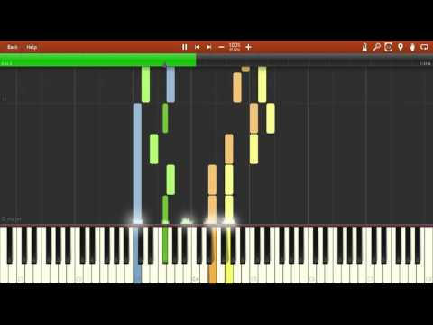 In Your Past - Sword Art Online [Piano Tutorial] (Synthesia)