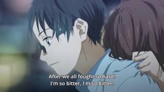 Arima & Tsubaki Scene — Tsubaki Jealousy (Shigatsu wa Kimi no Uso Ep 6)