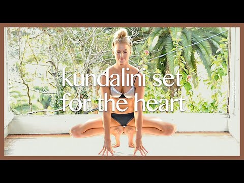 Kundalini Yoga Set For The Heart, Weight Loss, Flexibility | KIMILLA