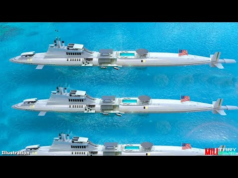 China Panic The U.S. Navy ($22 Billion) Signs Up For 9 New Future Nuclear Submarines