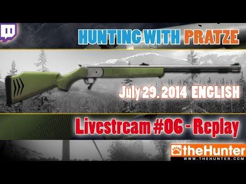 LIVESTREAM-REPLAY .50 Inline Muzzleloader - The Hunter 2014 - 07/29/2014 - ENG