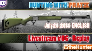 LIVESTREAM-REPLAY .50 Inline Muzzleloader - The Hunter 2014 - 07/29/2014 - ENG