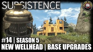 Subsistence   EP14   Wellhead, Base Upgrades   Let's Play Subsistence Gameplay (S5)