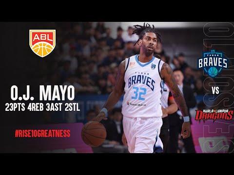 OJ Mayo 23 Points Highlights Vs  Kuala Lumpur Dragons