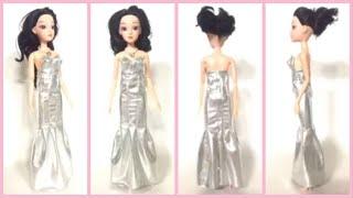[DIY O12]    프린세스 실버 은색 드레스 만들…