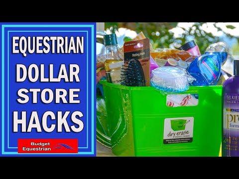 Equestrian Dollar Store Hacks