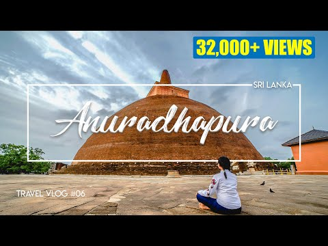 Anuradhapura | Poson Roundup | Sri Lanka | VLOG#6