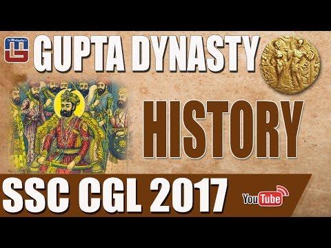 GUPTA DYNASTY   HISTORY   SSC CGL SPECIAL 2017   गुप्त वंश