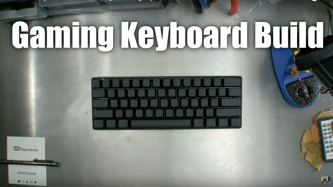7c9b1b9d47e 60% Gaming Keyboard Build from 1upkeyboards - YouTube