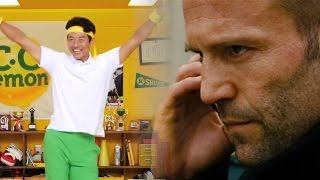 もし、ステイサムが「松岡修造のCCレモン元気応援SONG」にハマったら・...