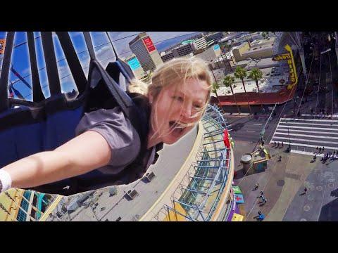 Superman Zipline Over Las Vegas