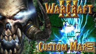 Warcraft 3 Custom Maps - Stream VOD #5