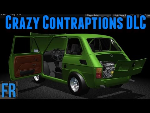 Car Mechanic Simulator 2015 - Crazy Contraptions Vehicles
