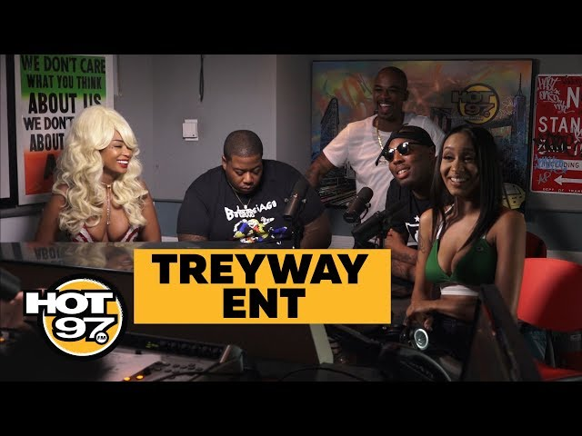 TREYWAY at HOT 97 w/ Drewski