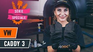 Comment changer Moteur d'Essuie-Glace VW CADDY III Box (2KA, 2KH, 2CA, 2CH) - guide vidéo