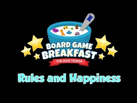 Board Game Breakfast - Rules and Happiness