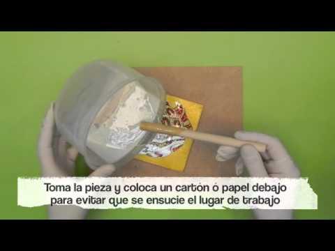Aplicaci n de la resina ultrabrillante bordaliquido youtube - Aplicacion de microcemento en paredes ...