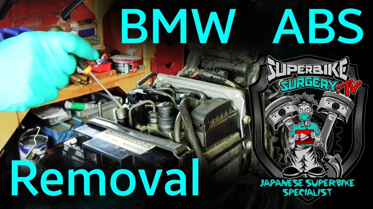 BMW Motorcycle Integral ABS Removal R1150/850 on