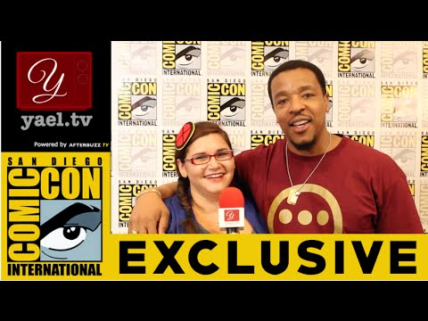 Russell Hornsby Hank  Grimm    San Diego ComicCon 2015