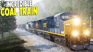 HUGE COAL TRAIN LOADING & HEAVY HAUL PREPARATION | Train Sim World Gameplay