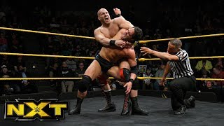 Roderick Strong vs. Fabian Aichner: WWE NXT, Jan. 17, 2018