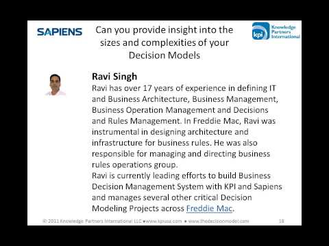Managing Business Change in the New World of TDM and Business Decision  Management - Part 3