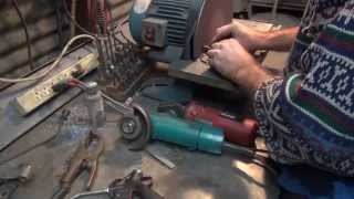 1949 EL panhead chassis repair #114 see what happens when a project goes sideways Harley