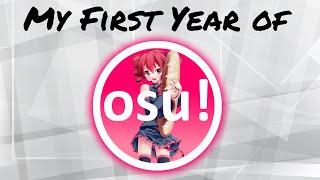 A Year of osu! Progress