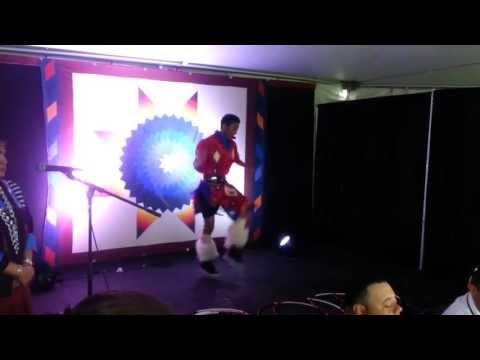 2013 New Orleans Jazz Fest Native American Hoop Dance