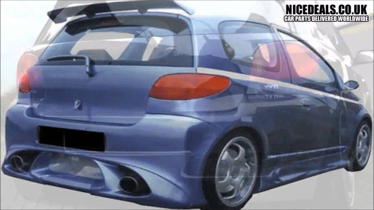 Toyota Yaris Trd Kit Grand New Avanza Veloz 1.3 M/t Body Kits Sports Bumpers Fenders Wings