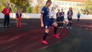 Команда девочек Куньинской СОШ серебряный призер всероссийского турнира Мини Футбол в школу