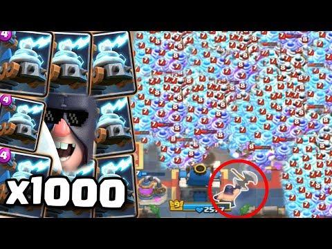 1000 ŞOK BİRLİĞİ vs 1 CELLAT (Çarpıcı Sonuç) - Clash Royale