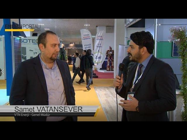 VTN Enerji - Solarex 2018 Enerjiportalı Röportajı