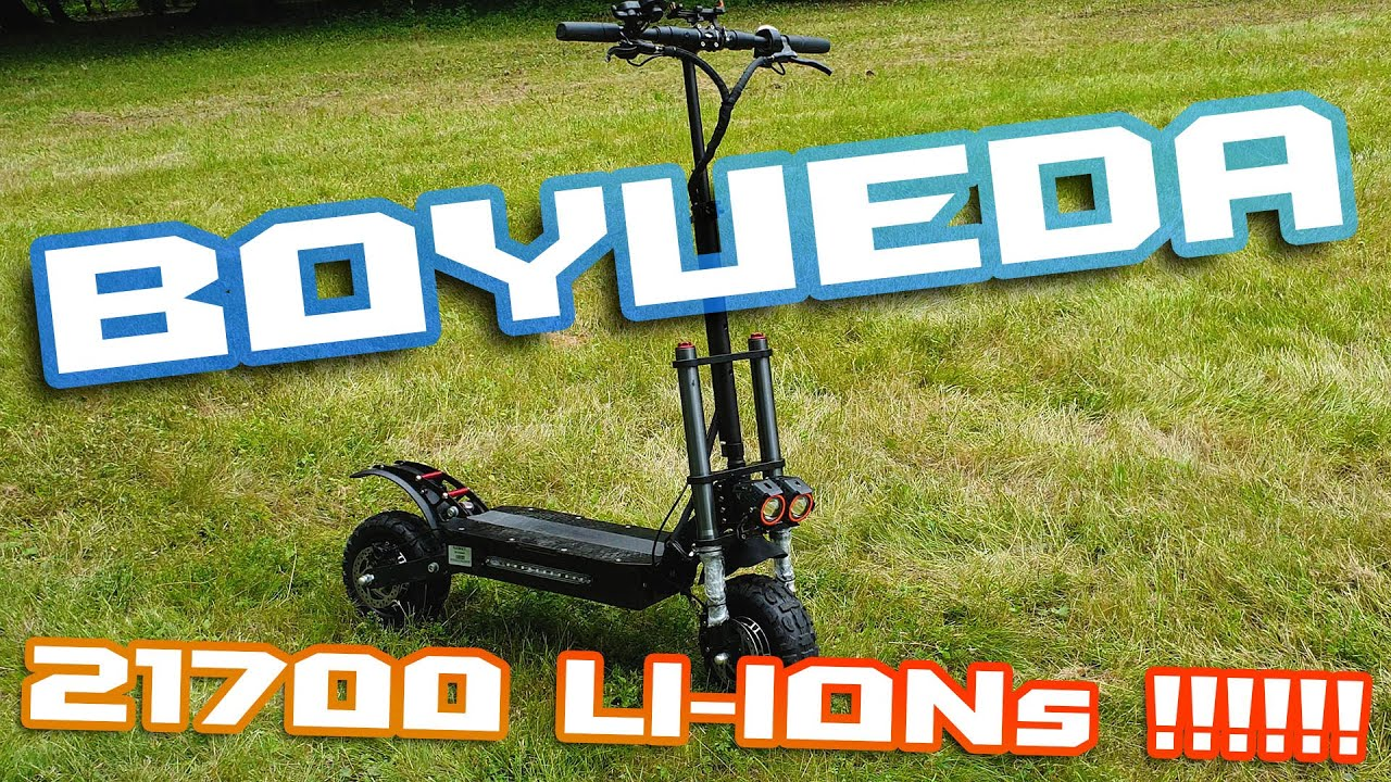 BOYUEDA Escoot with 21700 Battery Pack For 1100$😲 🛴⚡ Offroad Speeder🚀⛰🌄