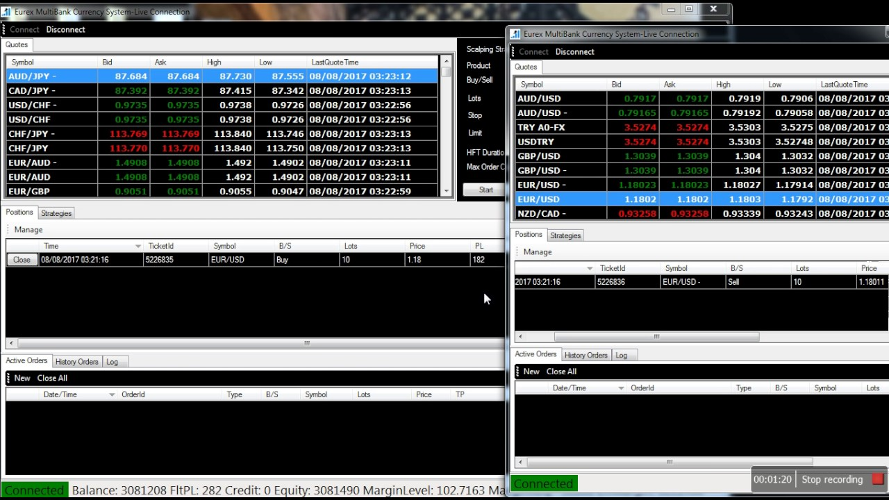 FX Arbitrage and High Frequency Trading - YouTube