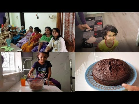 a-day-in-mom's-house-with-family---moist-chocolate-snack-cake-recipe---yummy-tummy-vlog