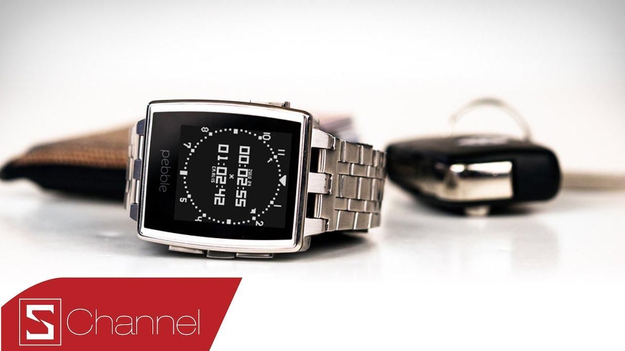 Schannel – Mở hộp Pebble Steel: Smartwatch phong cách cổ điển – CellphoneS