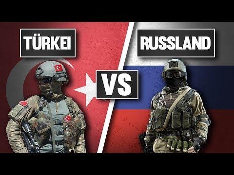 Wer hat das stärkere Militär? Russland vs Türkei