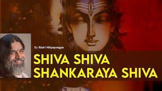 Shiva Shiva Shankaraya Shiva by Rishi Nityapragya - Art of Living Bhajans
