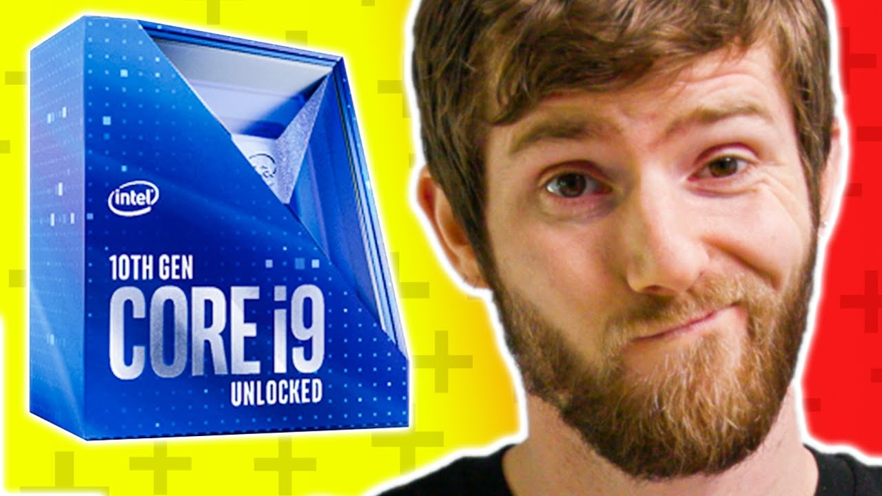 """Download What """"Hanging on for Dear Life"""" Looks Like... Intel Core i9 10900K & i5 10600K Review"""