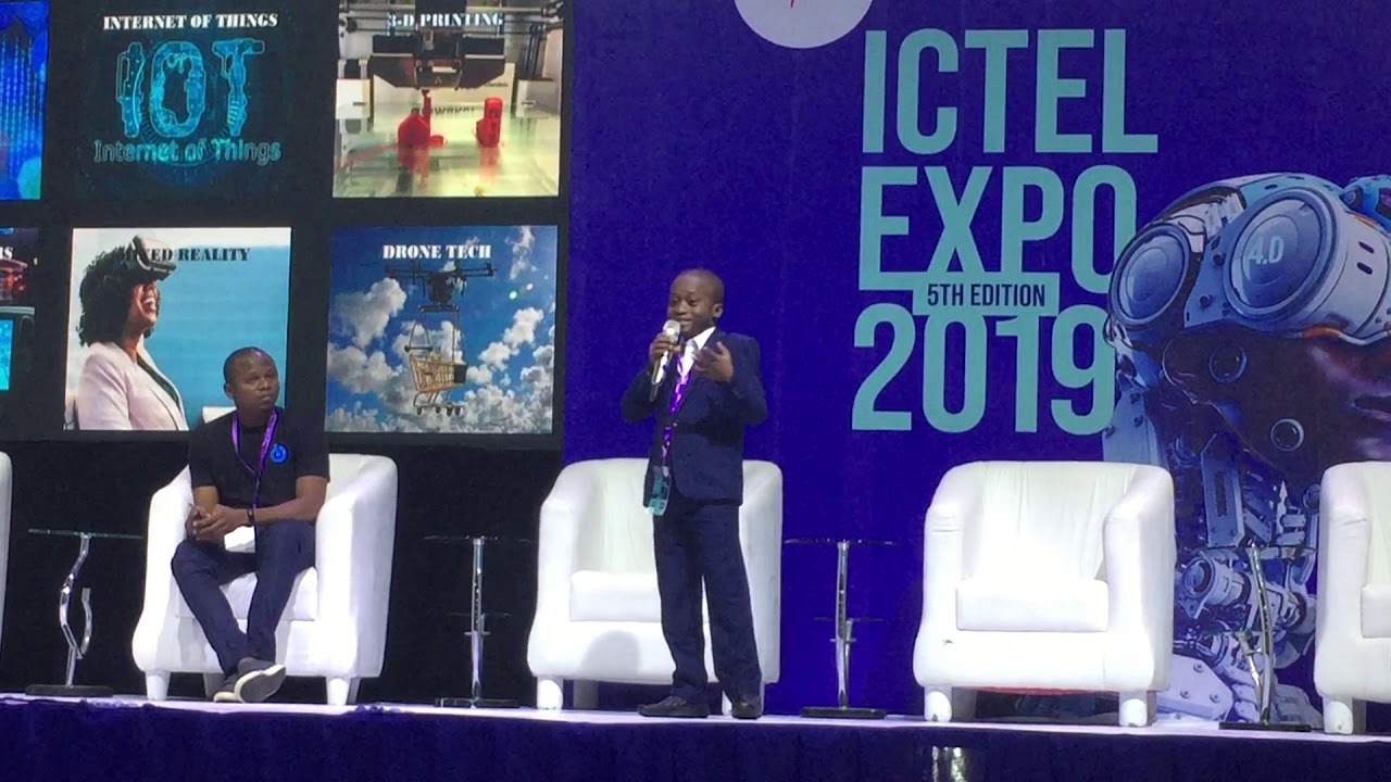 Download JOSHUA AGBOOLA'S PRESENTATION AT ICTEL EXPO 2019 TITLED   THE FOURTH INDUSTRIAL  REVOLUTION